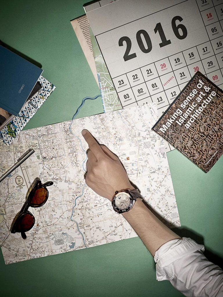 Watch Map Calenda