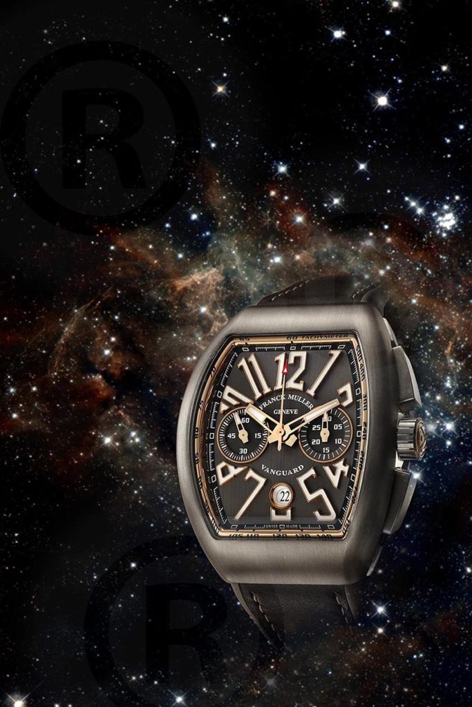 Franck Muller Watch on space