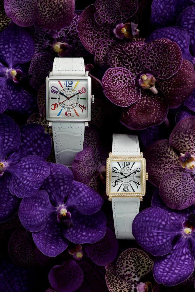 Franck Muller with Orchid Flower